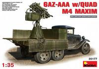GAZ AAA with Quad M4 Maxim 1/35