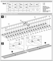 Railway Track Section (European Gauge) 1/35