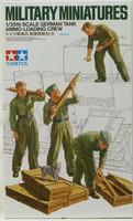 German tank ammo loading crew 1/35