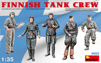 Finnish WW2 Tank Crew 1/35