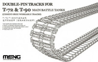 Workable Double-Pin Tracks for T-72 & T-90 tanks