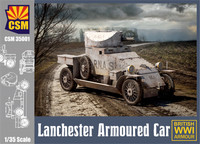 Lanchester Armoured Car 1/35