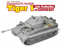 Tiger I Late Production with Zimmerit 1/35