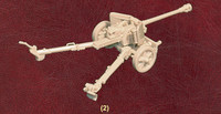 7.5cm PaK 40 Anti Tank Gun with crew 1/72
