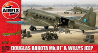 Douglas Dakota Mk.III with Willys Jeep 1/72