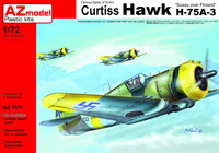 Curtiss Hawk H-75A-3 Sussu over Finland (New Mould) 1/72