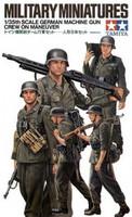 German Machine Gun Crew on Manouver 1/35