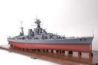 HMS Hood British Battle Cruiser 1/200
