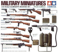 US infantry weapons set 1/35