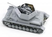 "3.7cm FlaK 43 Flakpanzer IV Ostwind ""Smart Kit"" 1/35"