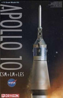Apollo 10 CSM + LM + LES 1/72