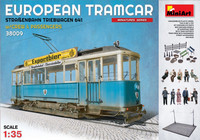 European Tramcar with Crew & Passengers 1/35