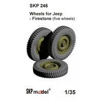 Resin Wheels for Jeep, Firestone