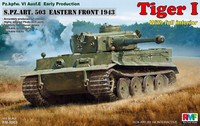 Tiger I Ausf.E Early model (sPz.abt 503 Eastern front 1943) 1/35