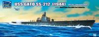 USS Gato SS-212 & OS2U-3 Kingfisher Floatplane 1/200