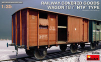 Covered Goods Wagon 18t NTV Ty 1/35
