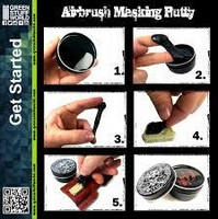 Airbrush Masking Putty 60g