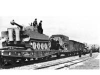 80 ton SSyms Schwerer Plattformwagen 1/35