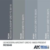 US MODERN AIRCRAFT GREYS 1980S-PRESENT