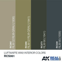 LUFTWAFFE WW2 INTERIOR COLORS