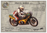 Minarelli 125 cc. 1981 Angel Nieto version (Full kit)  1/12