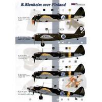 Bristol Blenheim over Finland  1/72