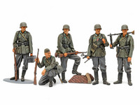 German Infantry Set (mid WWII)  1/35