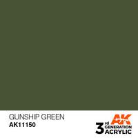 Gunship Green 17ml