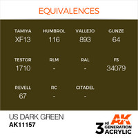 US Dark Green 17ml