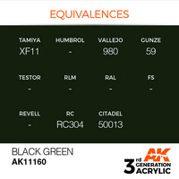 Black Green 17ml