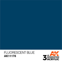 Fluorescent Blue 17ml
