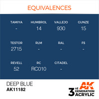 Deep Blue 17ml