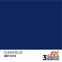 Clear Blue 17ml