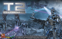 Terminator 2 T-800 Endoskeletons  1/32