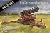 2cm Salvenmaschinekanone SMK Typ 2  1/35
