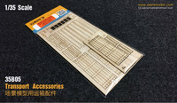 Wooden Transport Accessories  1/35