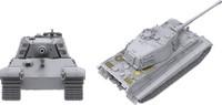 SdKfz 182 Tiger II s.Pz.Abt.505 mit Zimmerit  1/35