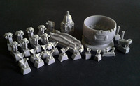 Gloster Gladiator Mk.II Engine & Cowl for ICM Kit  1/32