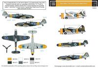 Hans Wind Finlands Top Ace II (Messerschmitt Bf-109G-2/G-6, Brewster B-239 Buffalo)  1/48