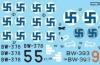 Hans Wind Finlands Top Ace II (Messerschmitt Bf-109G-2/G-6, Brewster B-239 Buffalo)  1/72