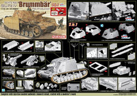 Strumpanzer Brummbär Ausf.II/III with Zimmerit (2in1)  1/35
