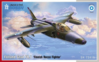 Folland Gnat FR.1 Finnish Recce Fighter  1/72