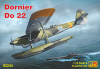 Dornier Do-22 Float Plane with Wheels & Skis  1/72