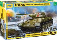 T-34/76 Model 1942 Hexagonal Turret  1/35