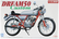 Honda Dream 50 Custom  1/12
