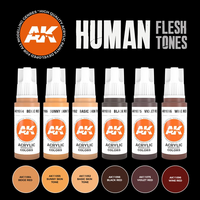 Human Flesh Tones Set