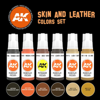 Skin and Leather Colors Set