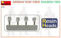 German Tank crew Kharkov 1943 (with Resin Heads!)