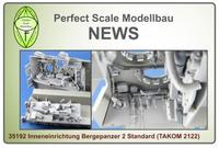 Interior Parts for Bergepanzer 2 Standard  1/35