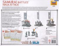 Samurai Battles Game Expansion Set (64 Figures)  1/72